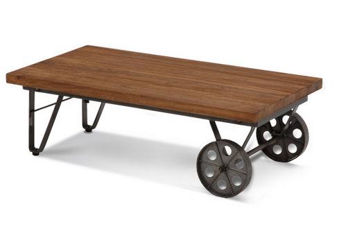 マンゴーウッドを使ったローテーブル