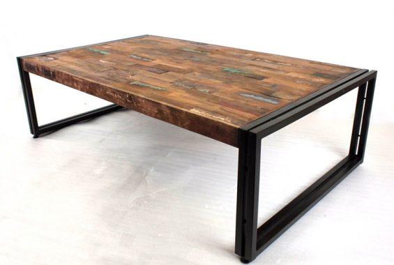 40~50年前の古材を使用したローテーブル