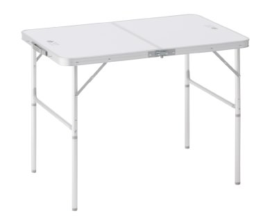 アルミ製のキャンプテーブル