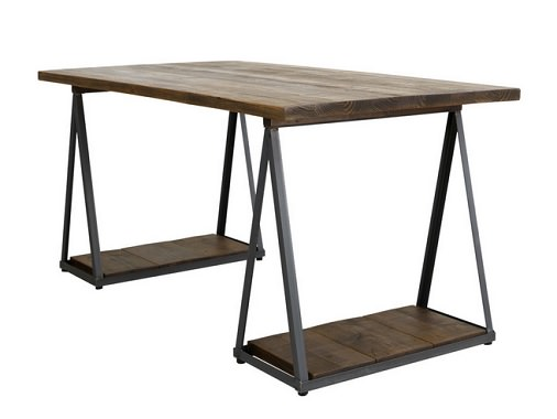 オシャレな脚のダイニングテーブル