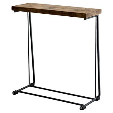 無垢古材を使ったサイドテーブル
