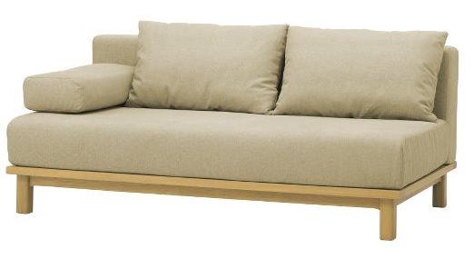 クッション付属のソファ