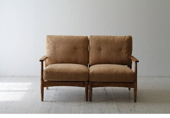 すのこフレームのソファ