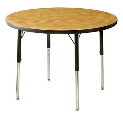 円形2人用テーブル