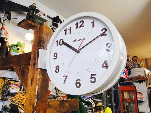 横付けの時計