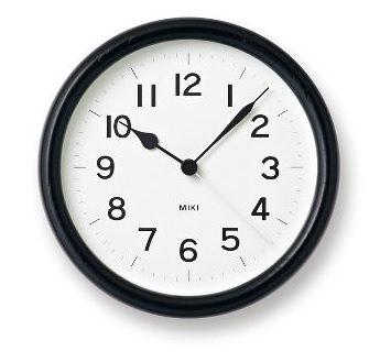 漆製の時計