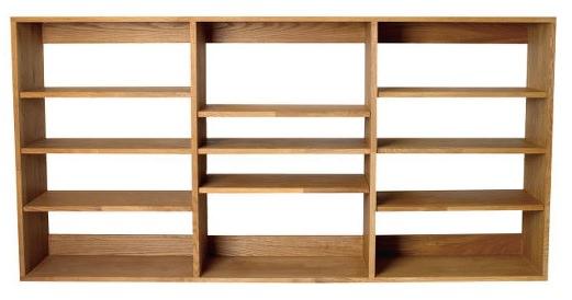 間隔調整可能な本棚