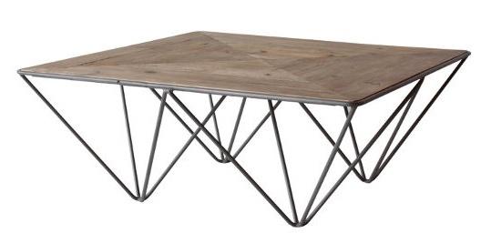 変な脚のローテーブル