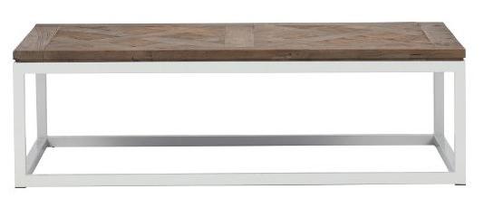 脚の白いローテーブル