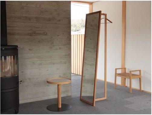 竹のミラー