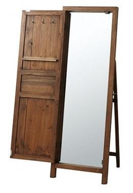 ドアのようなデザインの姿見