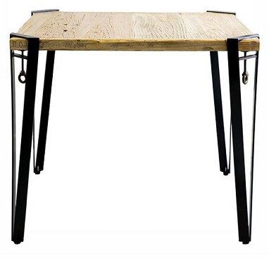 パイン古材の2人用テーブル