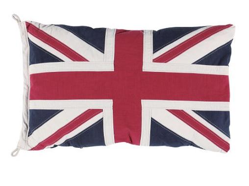 イギリス国旗のクッション