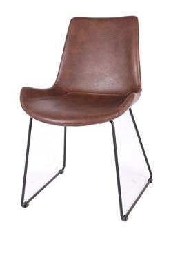 本革を使った椅子