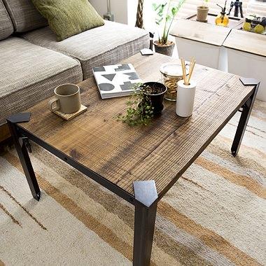 オリジナルレッグの折り畳みテーブル
