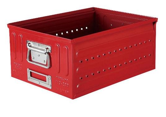 スチール製のおしゃれな収納ボックス