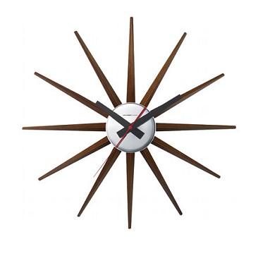 太陽っぽいデザイン時計