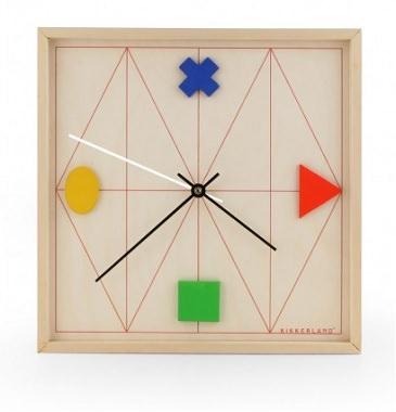 おもちゃっぽいデザイン時計