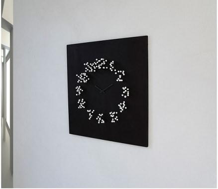 針のデザイン時計