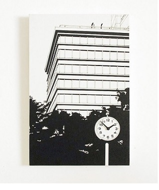 絵画のデザイン時計