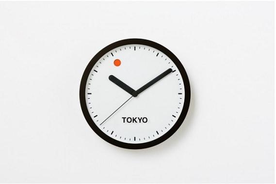太陽と月のデザイン時計
