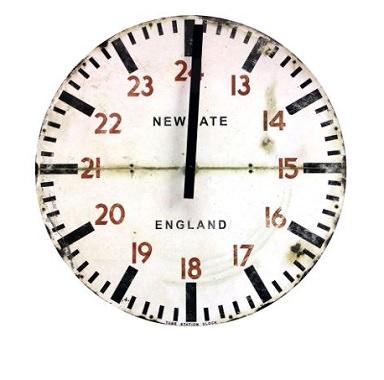 超ヴィンテージなデザイン時計