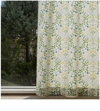 草木のカーテン