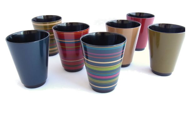 漆器ティーカップ