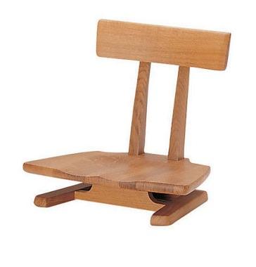 ナラ座椅子