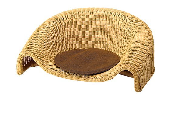 籐製座椅子