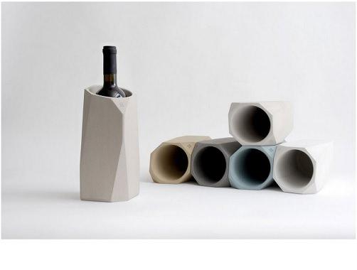 コンクリート製ワインクーラー