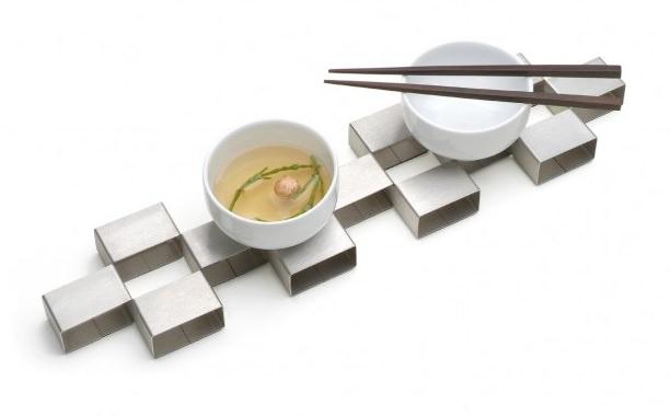 デザイン鍋敷き