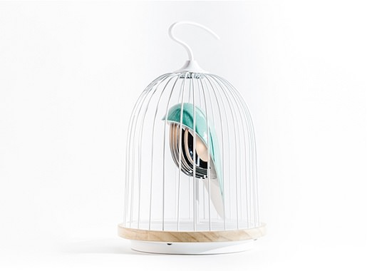 鳥かごのBluetoothスピーカー