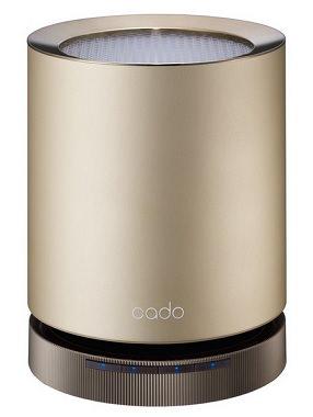 洗練されたデザインのアルミ製空気清浄機