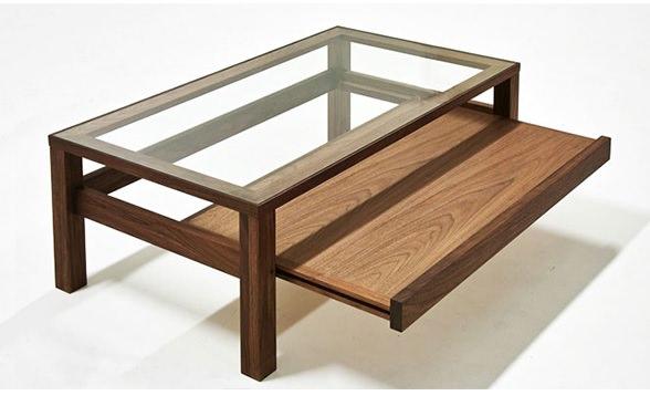 岡山産ガラステーブル