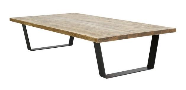 オリジナル脚のローテーブル