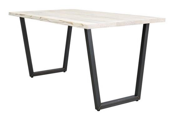 台形脚のダイニングテーブル