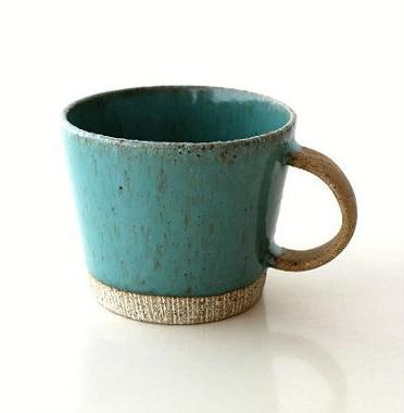 ザラザラのマグカップ