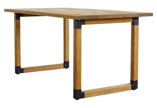 粗めのオークテーブル