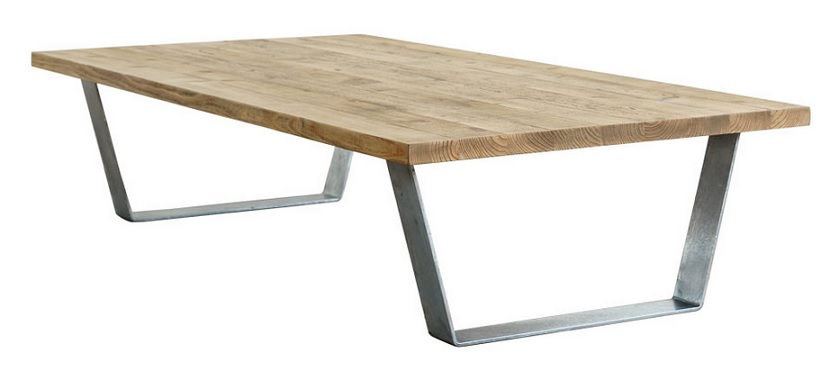 ガルバナイズドローテーブル